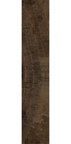 Norway 7 x 36 Ceramic Wood Look Tile in Narvik Bronze by Interceramic