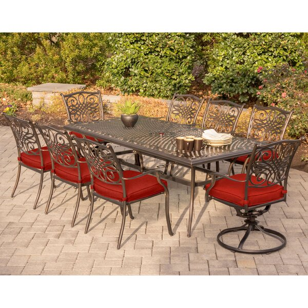Ragin Traditions 9 Piece Dining Set by Astoria Grand