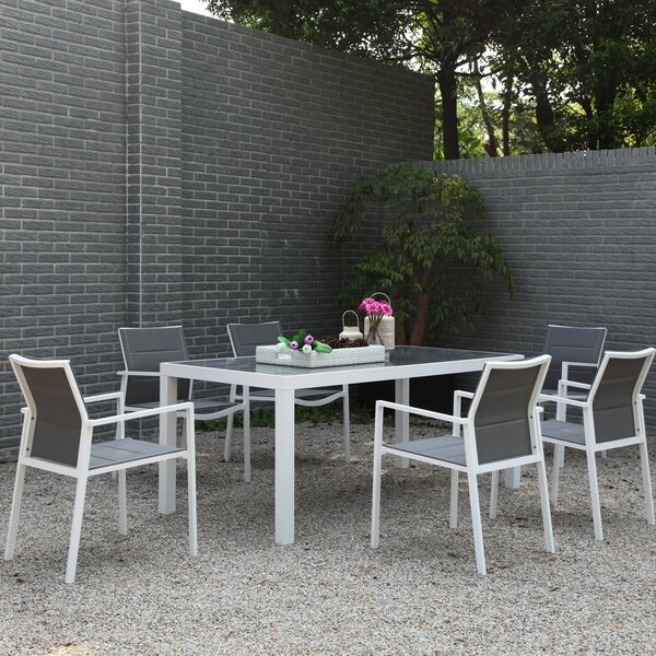 Veney 7 Piece Dining Set by Latitude Run