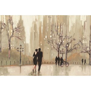 An Evening Out I Painting Print on Wrapped Canvas by East Urban Home