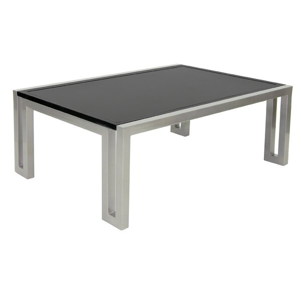 Icon Metal Coffee Table by Leona