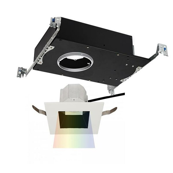 Aether Color Changing LED Open 3.5 Square Recessed Trim by WAC Lighting