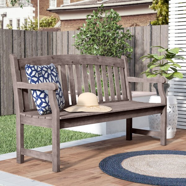 Densmore Wood Garden Bench by Darby Home Co