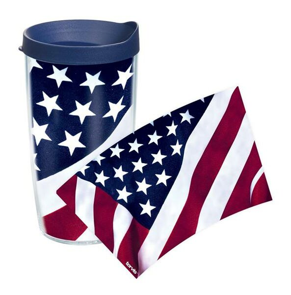 American Pride American Flag Colossal Plastic Travel Tumbler by Tervis Tumbler