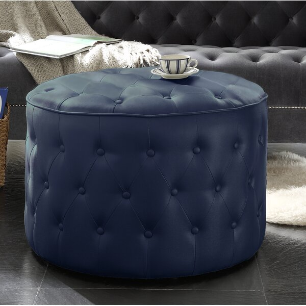 Gilchrist Tufted Cocktail Ottoman by House of Hampton