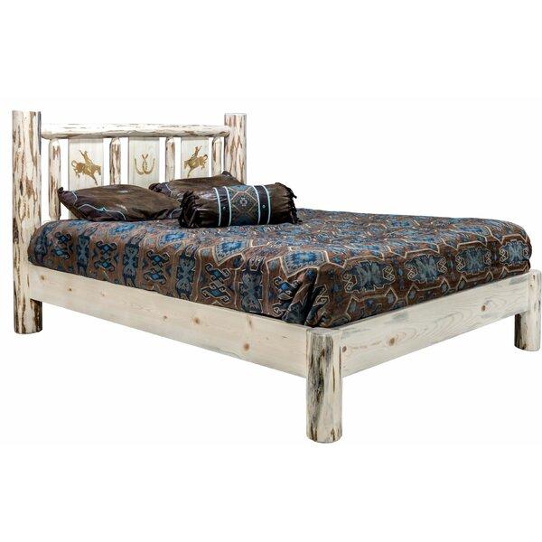 Antigo Platform Bed by Millwood Pines Millwood Pines