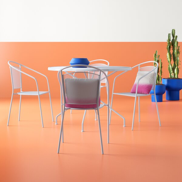 Walker 5 Piece Dining Set by Hashtag Home