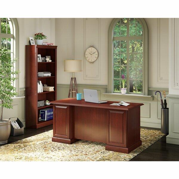 Bennington 2 Piece Desk Office Suites by Kathy Ireland Office by Bush