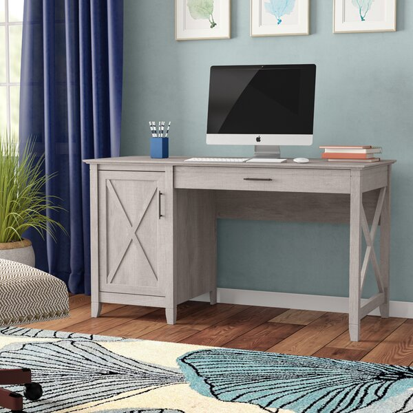 Oridatown Single Pedestal Computer Desk by Beachcrest Home