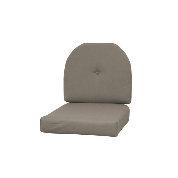 Wicker Indoor/Outdoor Sunbrella Rocking Chair Cushion by Red Barrel Studio
