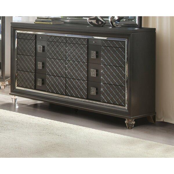 Garofalo 8 Drawer Double Dresser by Everly Quinn