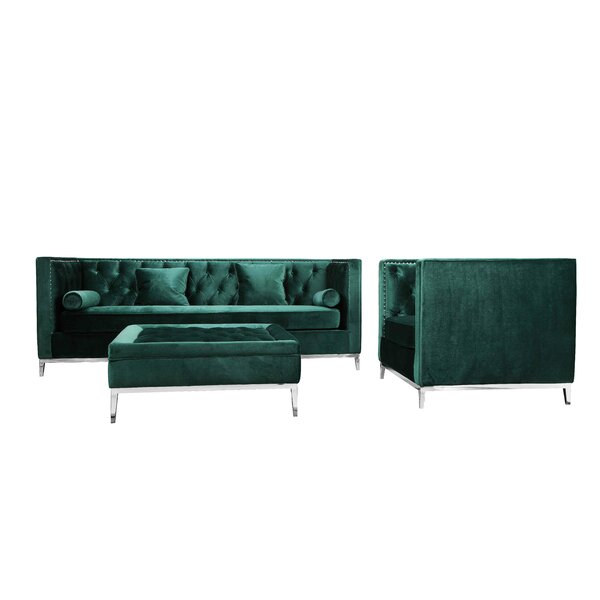 Messines Configurable Living Room Set By Mercer41 Reviews