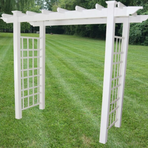 Newcastle Vinyl Arbor by Dura-Trel