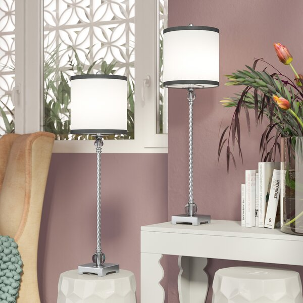 Chane 31.5 Table Lamp (Set of 2) by Willa Arlo Interiors