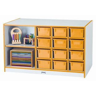 Best Reviews 14 Compartment Cubby with Casters ByJonti-Craft