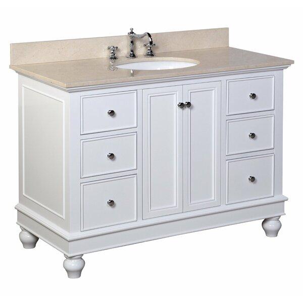 Bella 48 Single Bathroom Vanity Set by Kitchen Bath Collection