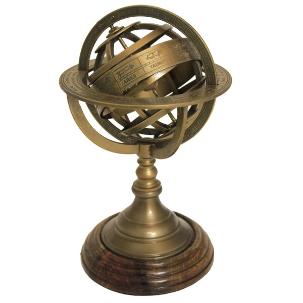 Urban Designs Armillary Sphere World Globe Table and Studio Decor by EC World Imports