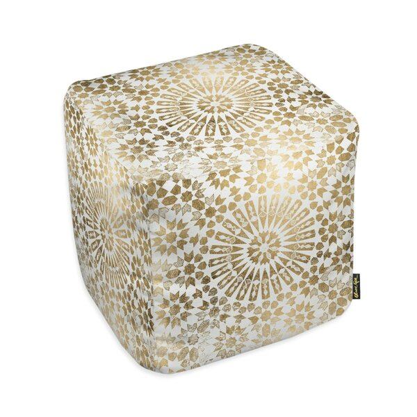 Oliver Gal Home Goldara Pouf by Oliver Gal