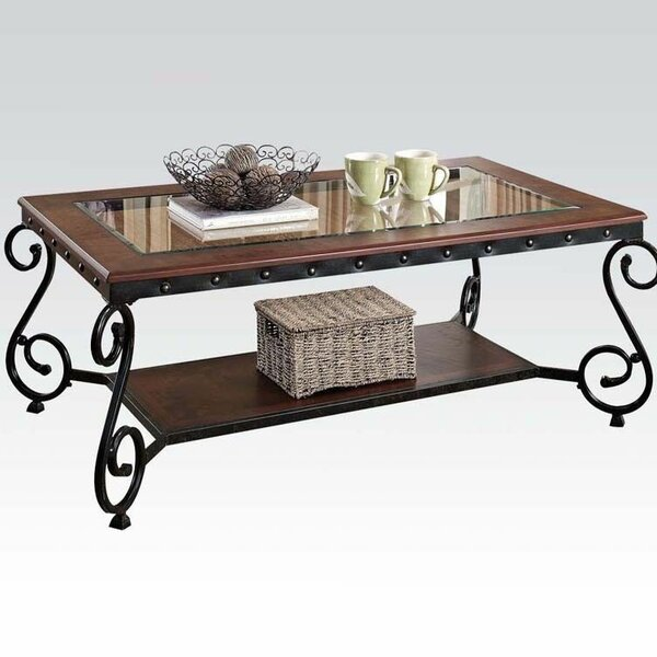 Cousar Coffee Table with Storage by Fleur De Lis Living