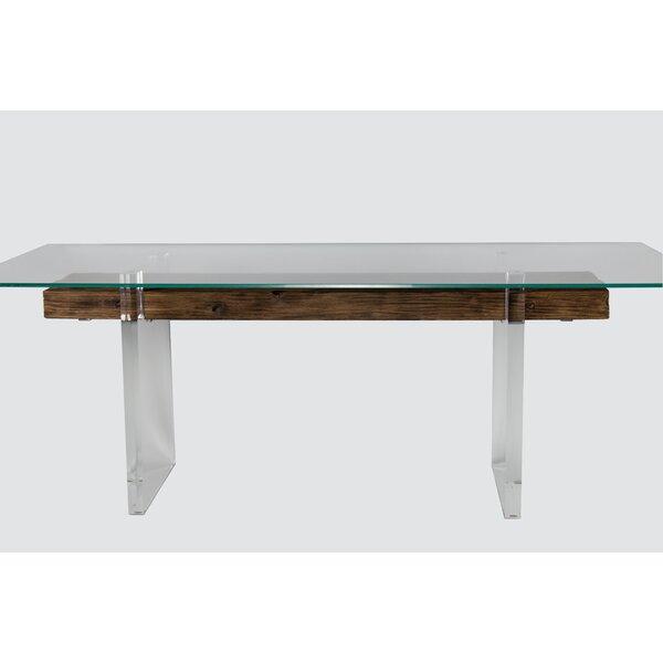 Latitude Run Glass Console Tables