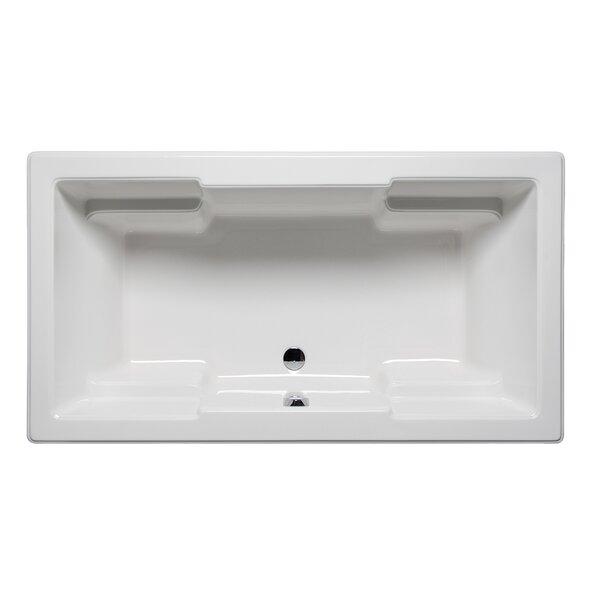 Quantum 66 x 42 Drop in Soaking Bathtub by Americh