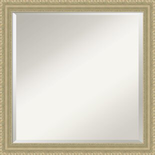 Darby Home Co Square Champagne Accent Wall Mirror