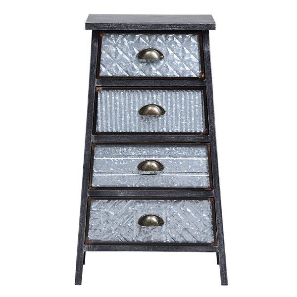 Manns 4 Drawer Accent Chest by Williston Forge Williston Forge