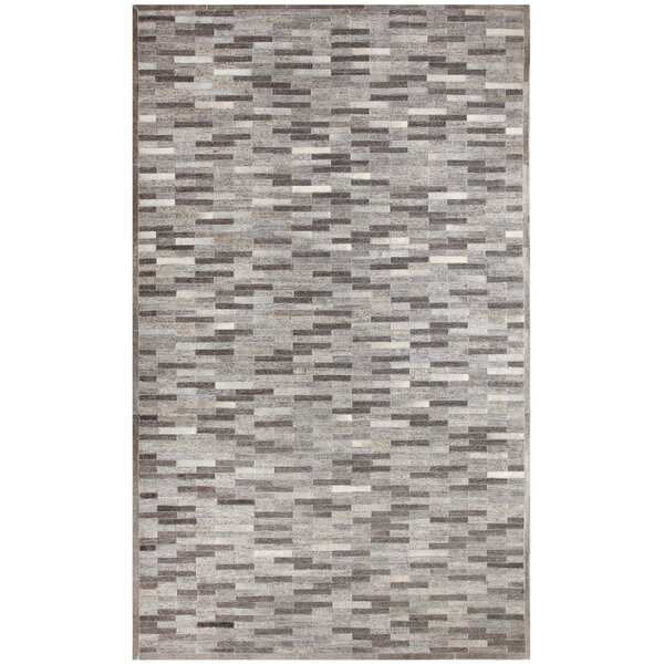 Ritz Hand-Woven Gray Area Rug by Dynamic Rugs