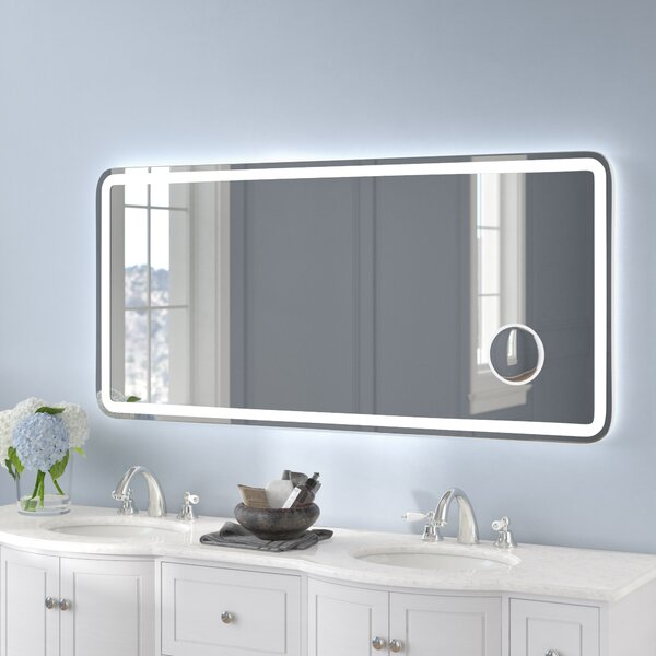 Rectangle Electric Wall Mirror by Wade Logan