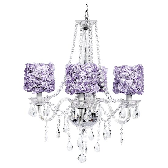 Middleton 4-Light Shaded Chandelier by Jubilee Collection