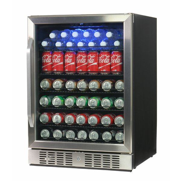 23-inch 5.3 cu. ft. Convertible Beverage Center by NewAir