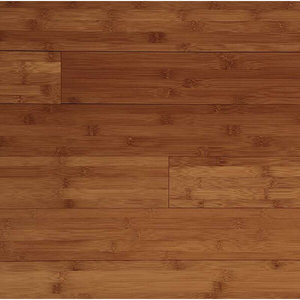 Horizontal 6 Solid Bamboo Flooring in Caramel by Easoon USA