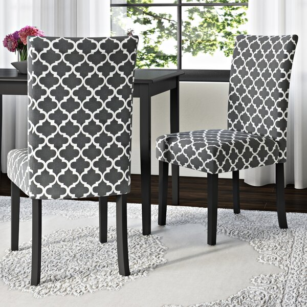 Cheever Upholstered Side Chair (Set Of 2) By Winston Porter