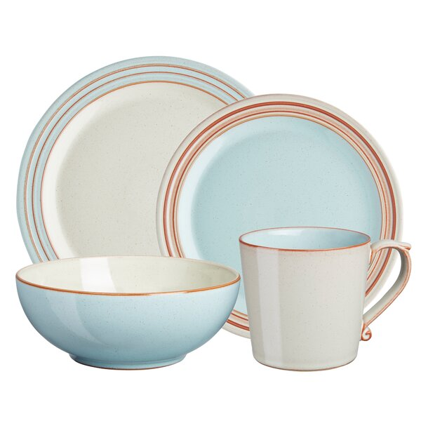 Heritage Pavilion 4 Piece Place Setting, Service for 1 by Denby