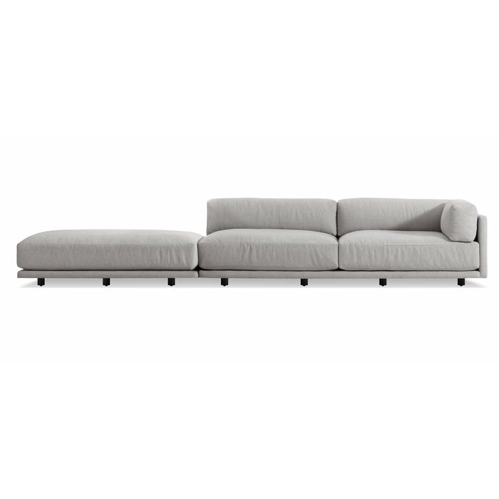 Incredible Sunday Long And Low Right Sectional Sofa Caraccident5 Cool Chair Designs And Ideas Caraccident5Info