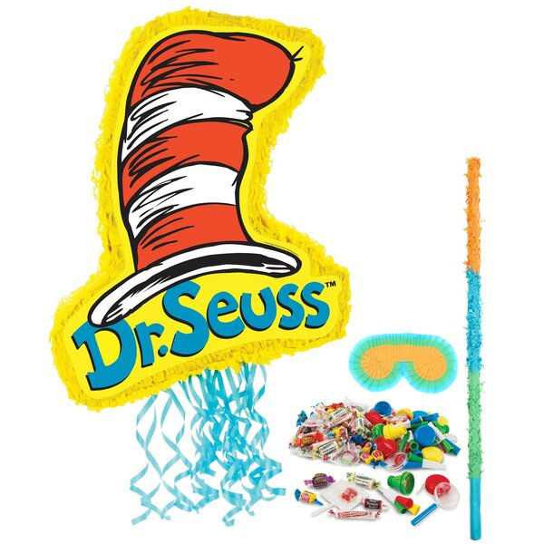 3 Piece Dr. Seuss Classics Pinata Decorative Kit b