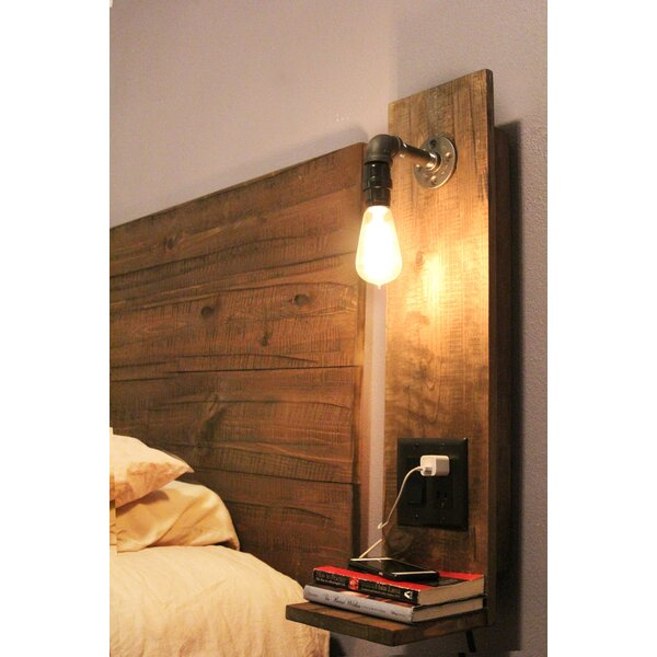Rustic Floating Nightstand by Midwood Designs