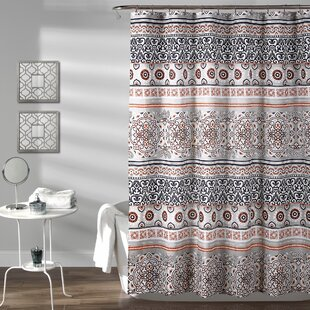 Great choice Braelyn Stripe Shower Curtain ByWorld Menagerie