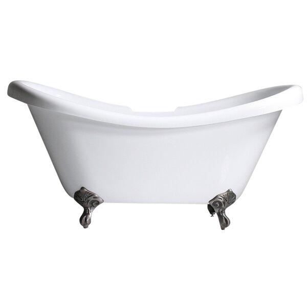 Hotel Acrylic 59 x 31 Freestanding Soaking Bathtub by Baths of Distinction