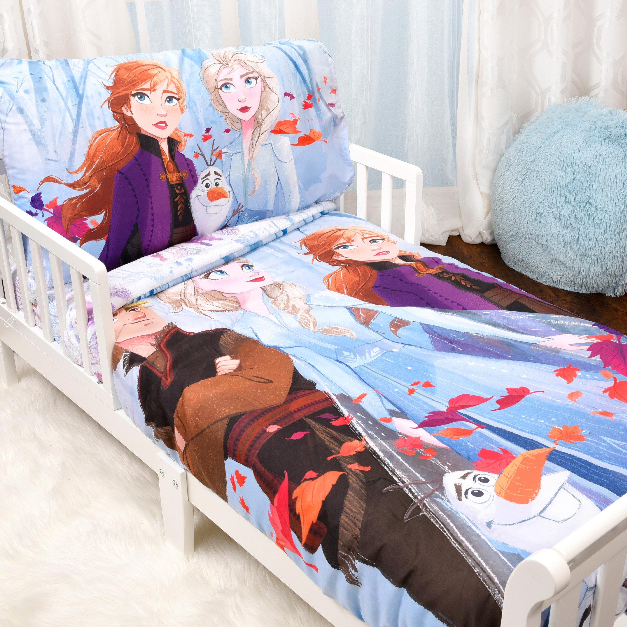Disney Frozen Warm Heart Microfiber Sheet Set Full