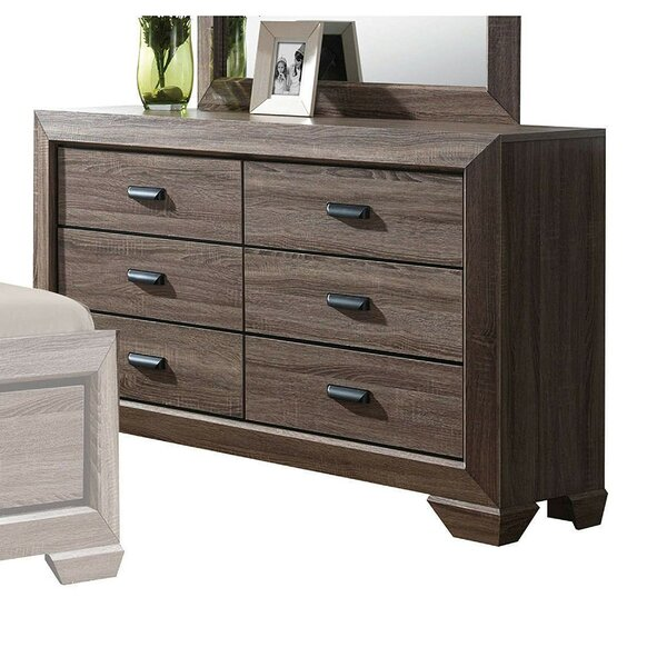 Painesville 6 Drawer Double Dresser By Ivy Bronx