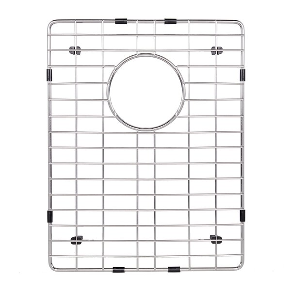 Stainless Steel Bottom Grid, 12.75-in. x 16.25-in. by VIGO