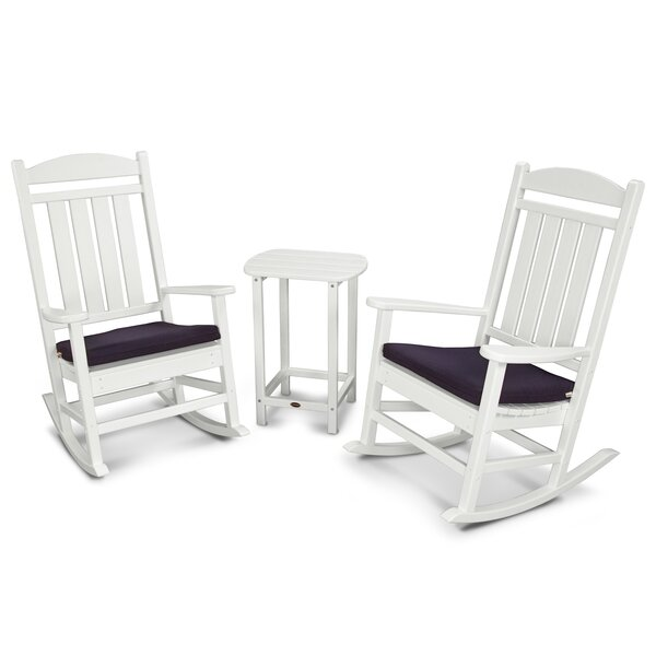 Presidential 3 Piece Seating Group with Cushions by POLYWOOD®