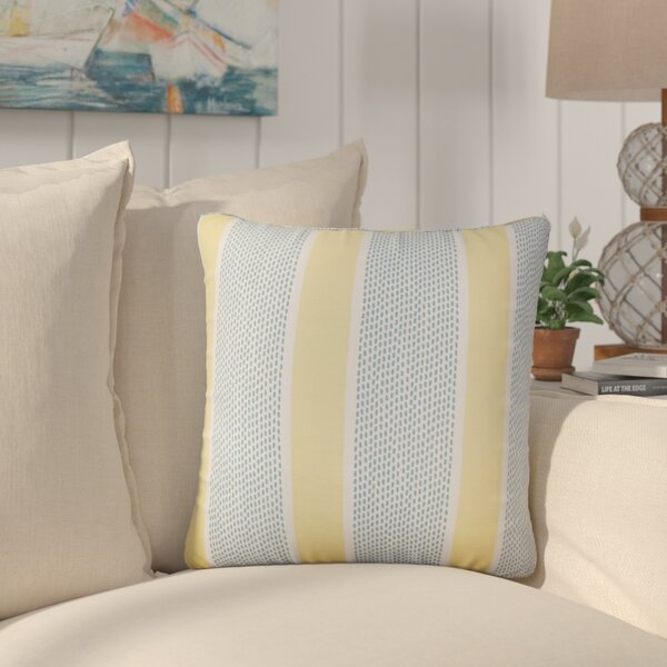 Varela Striped Cotton Throw Pillow (Set of 2) by Rosecliff Heights