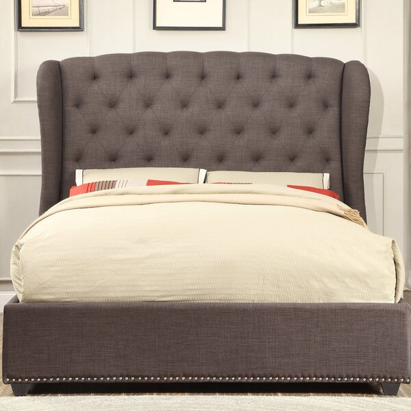 Bridgeview Upholstered Standard Bed by Darby Home Co
