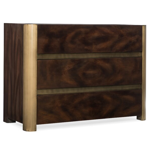 Melange Kemp 3 Drawer Accent Chest by Hooker Furniture Hooker Furniture