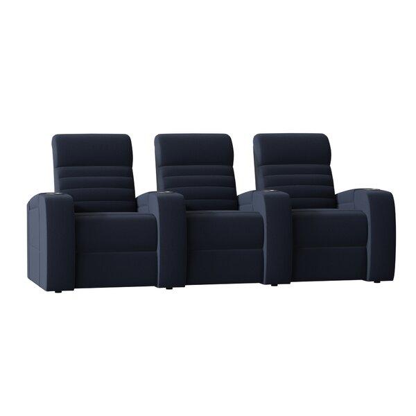 Alexandria Home Theater Sofa (Row Of 3) By Palliser Furniture