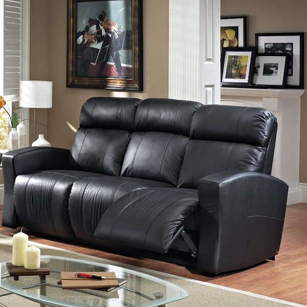 Modern Style Vuelta Leather Reclining Sofa by Relaxon by Relaxon