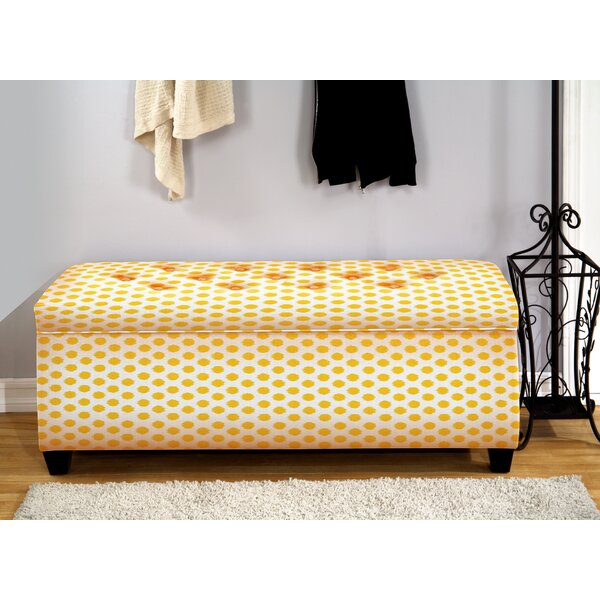 Andi Upholstered Storage Bench by Winston Porter