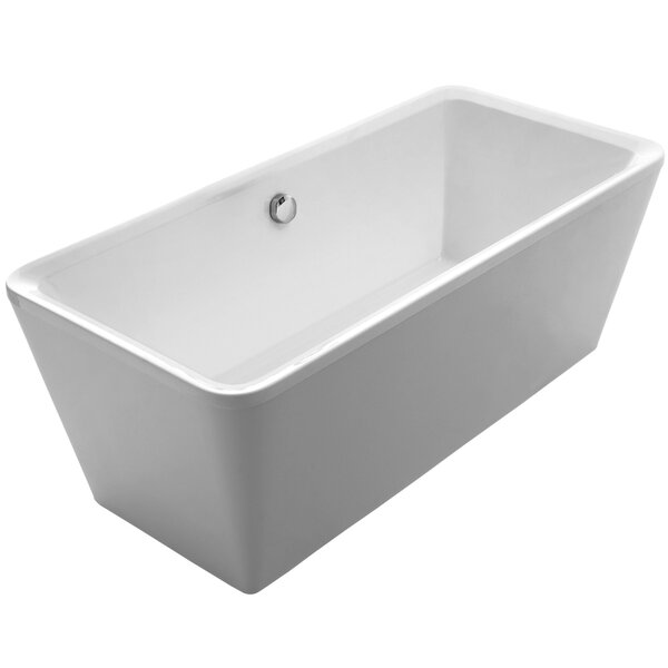Bathhaus 67 x 31.5 Freestanding Bathtub by Whitehaus Collection